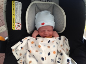The day we finally brought you home from the hospital