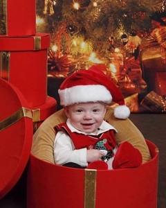Your first Christmas photo shoot