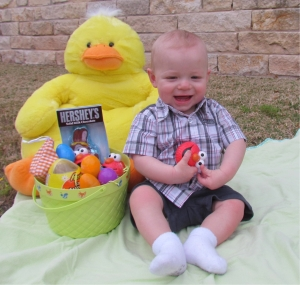 Your first Easter