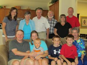 The entire Tibbitts side of the family