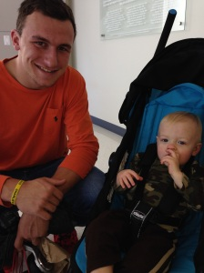 And that time you actually met Johnny Football!