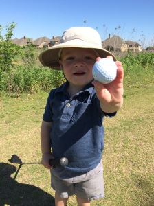 Your first golf outing